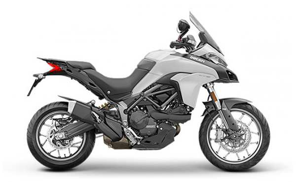 Ducati Multistrada 950 White Adventure Toring